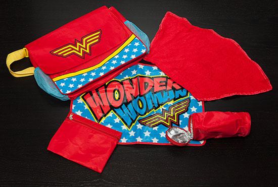 Wonder Woman changing bag