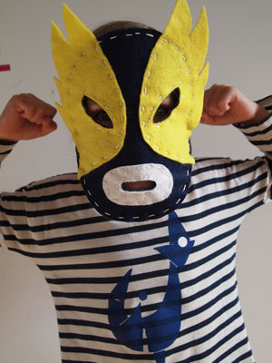 Mexican Wrestling Project Kit by School of Craft