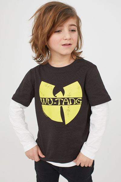 Wu-Tang Clan top for kids at H&M